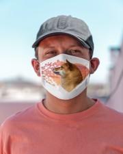Shiba Inu-My Life-Mask Cloth face mask aos-face-mask-lifestyle-06