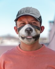Border Collie-Mask Mouth Cloth face mask aos-face-mask-lifestyle-06
