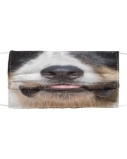 Border Collie-Mask Mouth Cloth face mask front