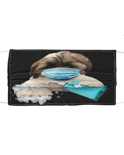 Tibetan Terrier-Face Mask-Wash