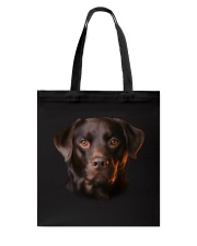 Labrador-Chocolate - Only Face Tote Bag thumbnail