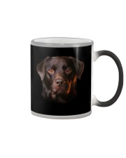 Labrador-Chocolate - Only Face Color Changing Mug thumbnail