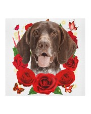 German Shorthaired Pointer-Face Mask-Rose Cloth face mask aos-face-mask-coverlet-lifestyle-front-02