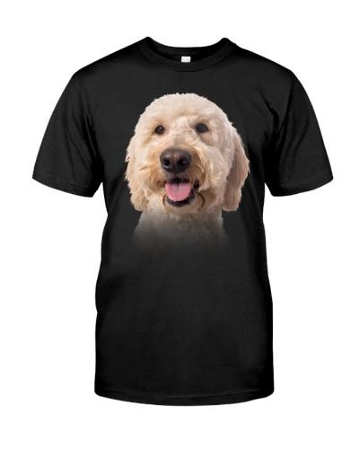 Goldendoodle-Dog Face
