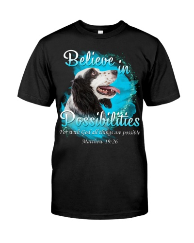 English Setter-Believe In Possibilities