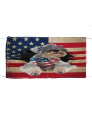 Schnauzer-US Mask Cloth face mask front