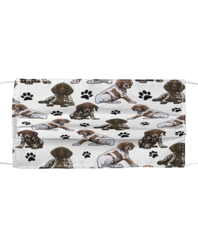 German Shorthaired Pointer-Face Mask-Paw