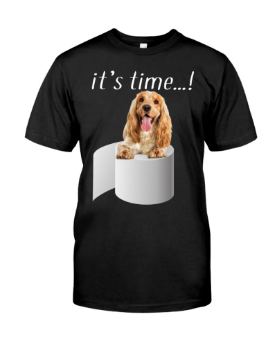 English Cocker Spaniel-It's Time
