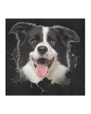 Border Collie-Hole Crack Cloth face mask aos-face-mask-coverlet-lifestyle-front-02