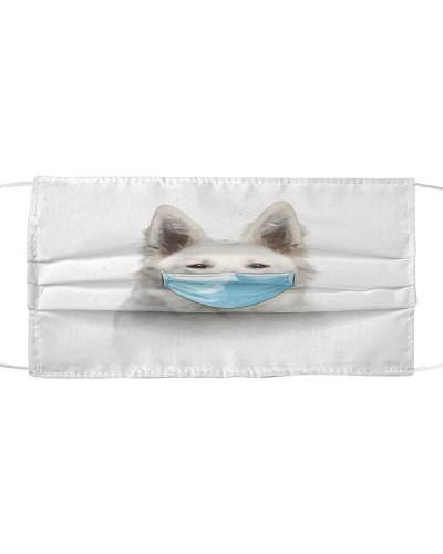 Berger Blanc Suisse-Face Mask-Mask