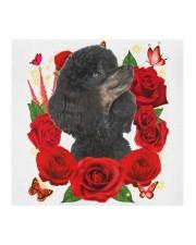 Poodle-Black-Face Mask-Rose Cloth face mask aos-face-mask-coverlet-lifestyle-front-02