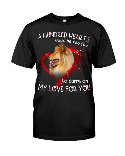 Rough Collie-Hundred Hearts