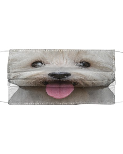 West Highland White Terrier-Face Mask