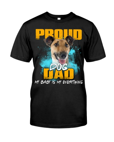 Smooth Fox Terrier-Proud Dog Dad