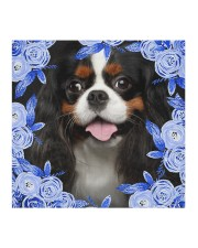 Cavalier King Charles Spaniel-Blue Mask Cloth face mask aos-face-mask-coverlet-lifestyle-front-02