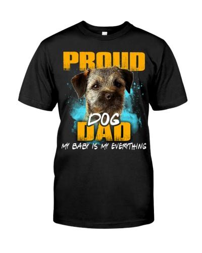 Border Terrier-Proud Dog Dad