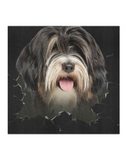 Tibetan Terrier-Hole Crack Cloth face mask aos-face-mask-coverlet-lifestyle-front-02