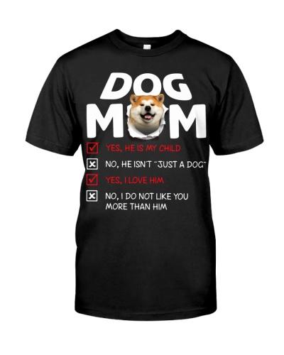 Akita-Dog Mom