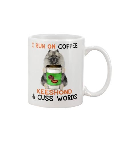 Keeshond-Coffee