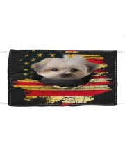 Morkie-Mask USA  Cloth face mask front