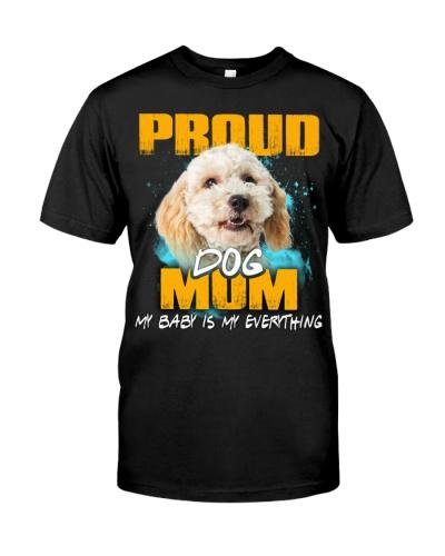 Poodle Crossbreed-Proud Dog Mom
