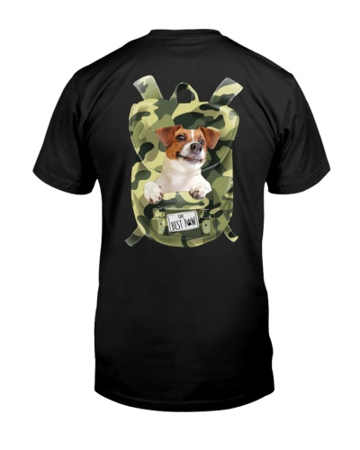 Jack Russell Terrier-Camo-Backpack