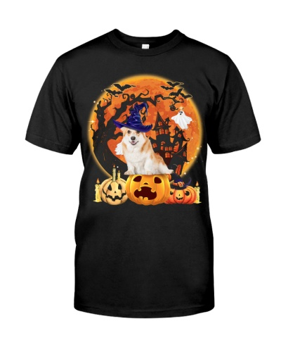 Pembroke Welsh Corgi-Halloween