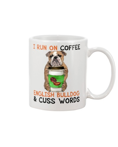 English Bulldog-Coffee