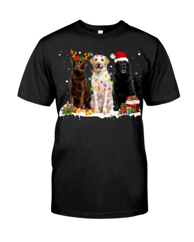Labrador Retriever-Snow-Christmas