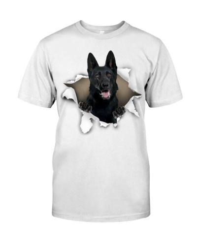 German Shepherd-Black - Torn02