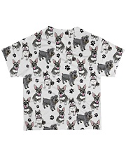 Schnauzer - Paw All-over T-Shirt back