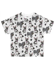 Schnauzer - Paw All-over T-Shirt front