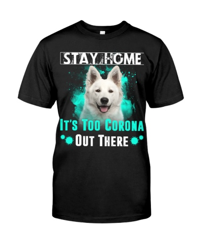 Berger Blanc Suisse-Stay Home