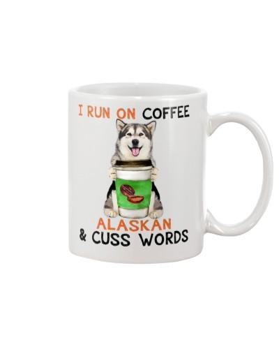 Alaskan Malamute-Coffee