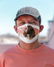 English Springer Spaniel-My Life-Mask Cloth face mask aos-face-mask-lifestyle-06