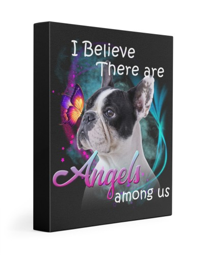 French Bulldog-Canvas Angels