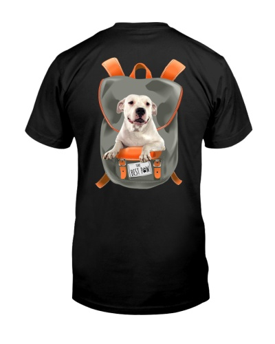 Dogo Argentino-Backpack