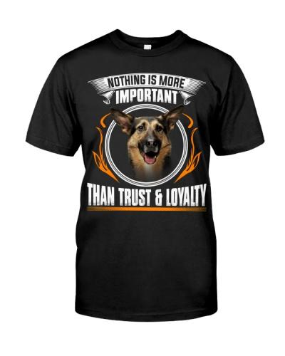 German Shepherd-Trust And Loyalty