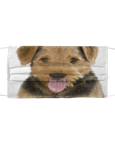 Airedale Terrier-Face Mask