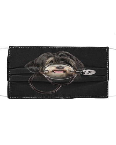 Tibetan Terrier-Face Mask-Stethos