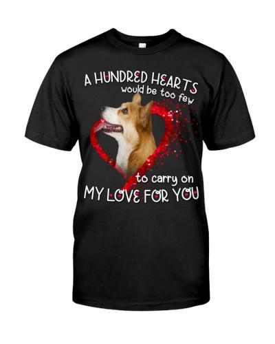 Corgi-Hundred Hearts