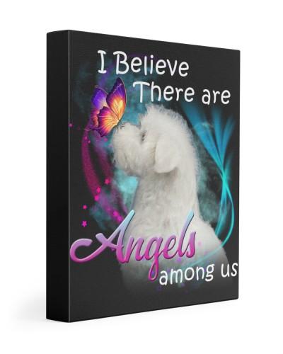 Maltese-Canvas Angels