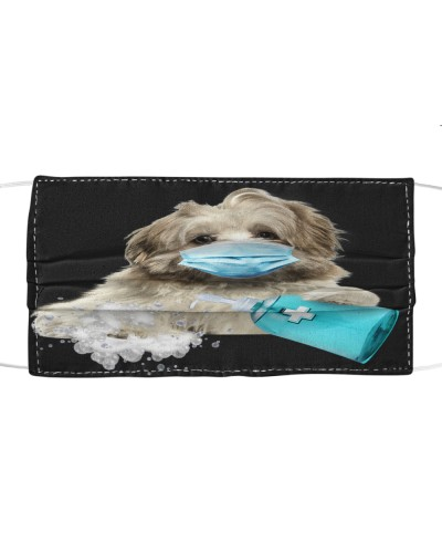 Lhasa Apso-Face Mask-Wash
