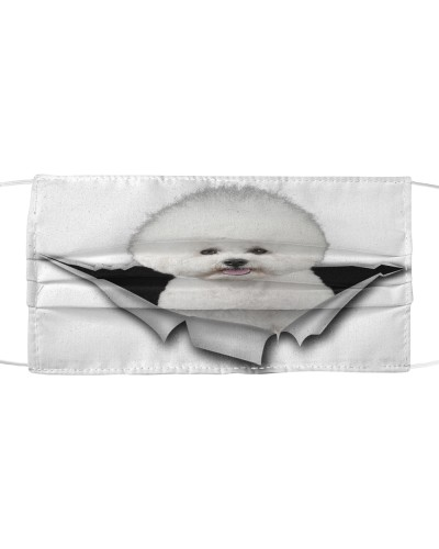 Bichon Frise-Face Mask-Torn