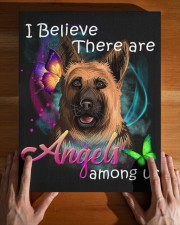 German Shepherd-Art-Canvas Angels 11x14 Gallery Wrapped Canvas Prints aos-canvas-pgw-11x14-lifestyle-front-32