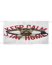 Yorkshire Terrier-Mask-Stay Home Cloth face mask front