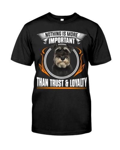 Miniature Schnauzer-Trust And Loyalty