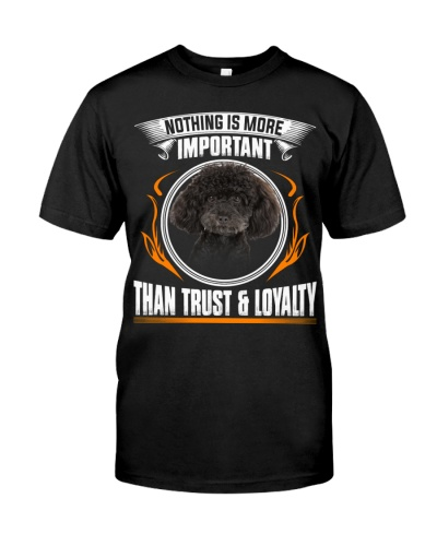 Poodle-Trust And Loyalty