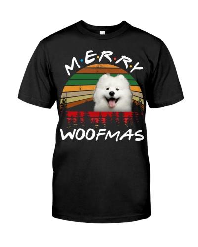 Samoyed-Merry Woofmas