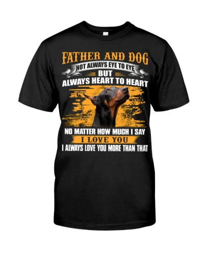 Doberman-Father And Dog